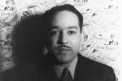 Langston Hughes photographed in 1936 by Carl Van Vechten via Wikimedia Commons/LOC
