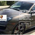 ONLINE AUCTION OF PORSCHE CAYENNE GTS