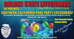 SAN FERNANDO VALLEY POOL PARTY LIFEGUARDS