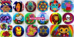 BUTTON MAKING for Your Party or Event (Los Angeles County)