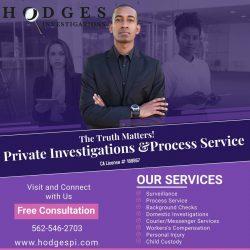 Cheating Spouse -Child Custody-Private Investigator -Process Server