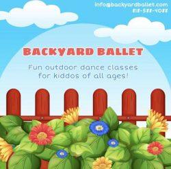 BACKYARD BALLET DANCE CLASS FOR KIDS (Sherman Oaks)