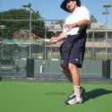 Tennis hitting in Hollywood (++Hollywood+++